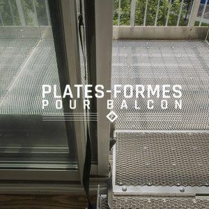 Plate-forme pour balcon