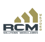 Logo : RCM Solutions modulaires