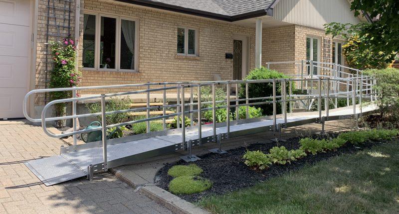 Installation de Rampes d'accès résidentielles
