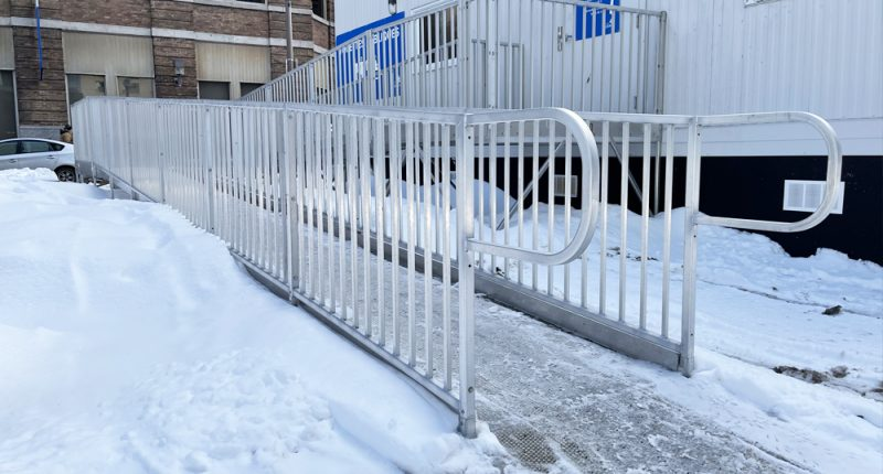 Access ramp for commercial use - Go Rampe