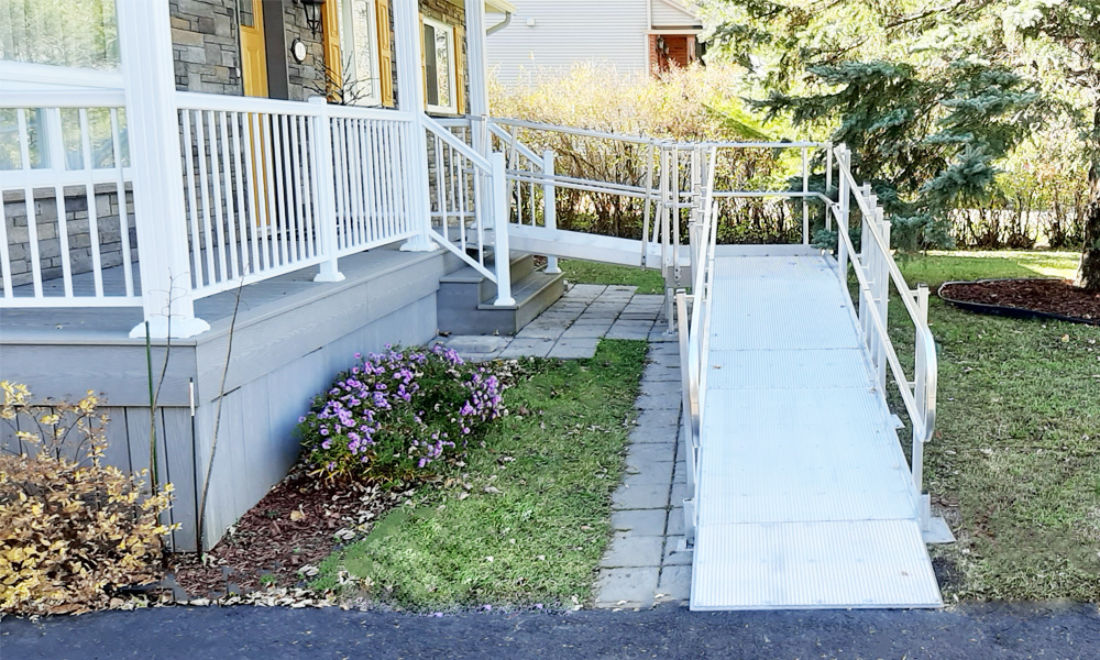 How to install an access ramp?