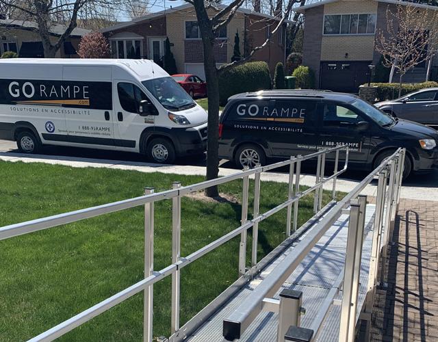 Residential access ramp - Go Rampe