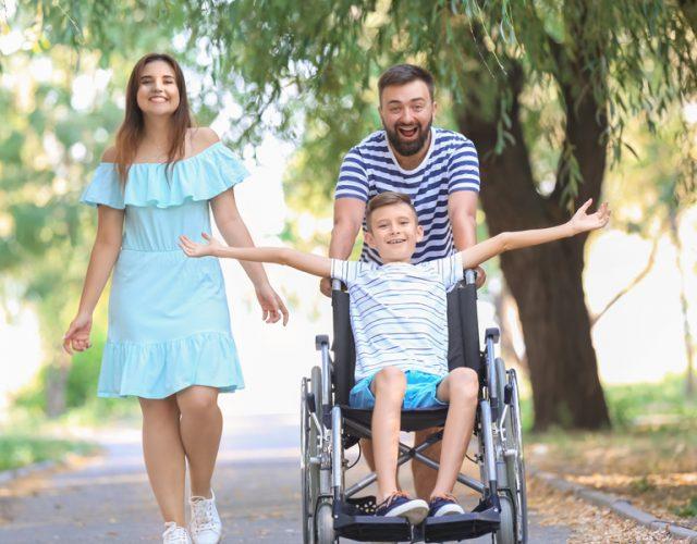 Vivre avec un enfant en fauteuil roulant : entrevue avec une maman
